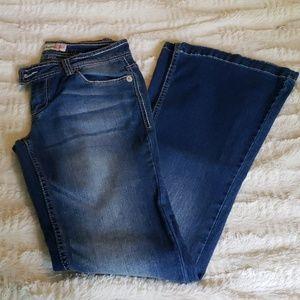 Paris Blues Jeans. Boot cut. Junior's size 5.
